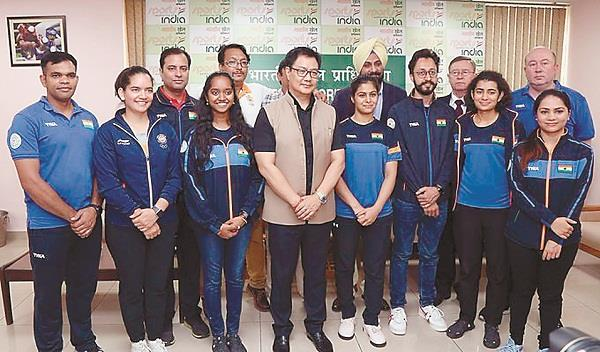 india  s tokyo olympics to continue in shootings  rijiju