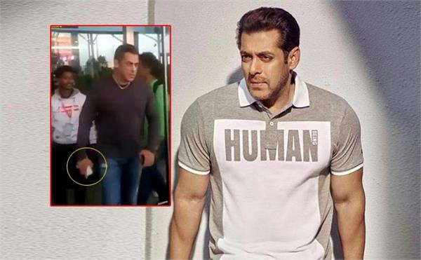 salman khan s radhe s shoot in goa in trouble post phone snatching video