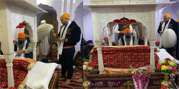 gippy grewal s visit to pakistan nankana sahib