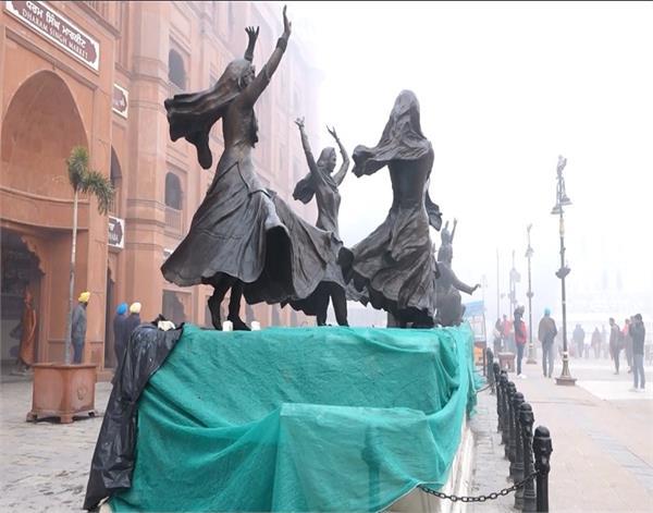 amritsar heritage statues breaking 8 accused jail