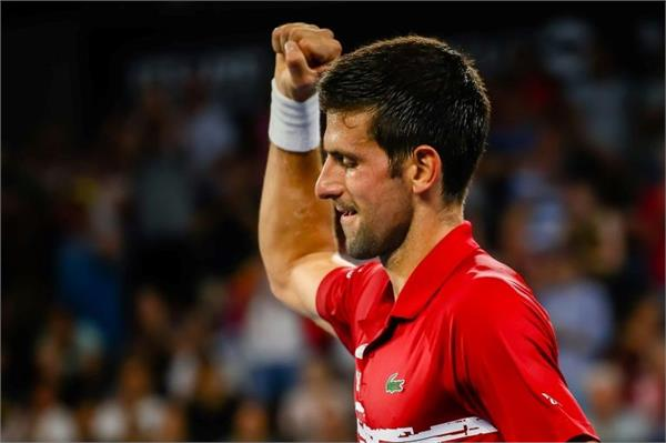 djokovic secures serbia s place in atp cup quarterfinals