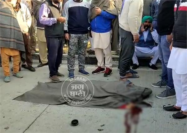 bathinda road accident 2 youths death