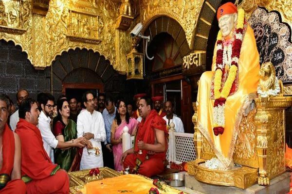 shirdi bandh off today uddhav will meet on this matter