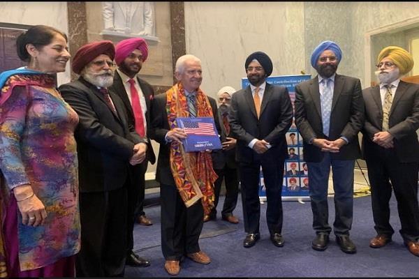 america  50 sikh honored