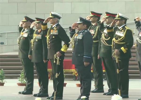 72nd army day bipin rawat manoj mukund naravane pm