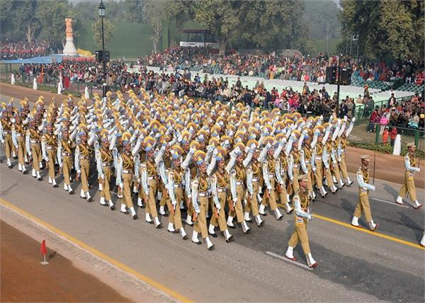 delhi traffic police republic day parade rehearsal