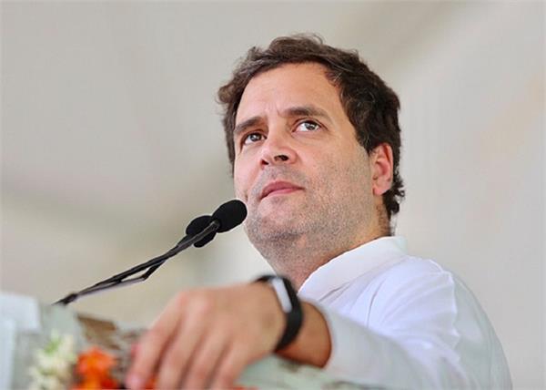 congress rahul gandhi corona virus economy tweet