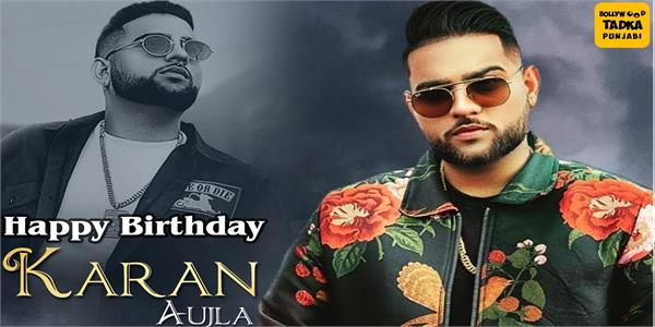 karan aujla happy birthday