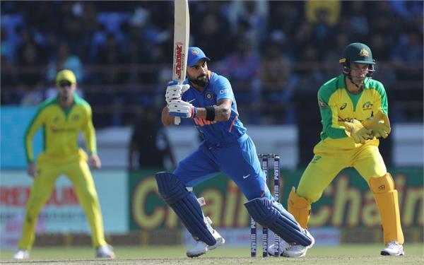 virat kohli completed his 4000 international runs against australia