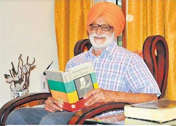 prof surjit hans chief minister capt amarinder singh