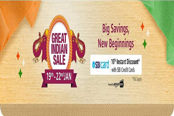 amazon  s great indian sale explosion  up to 80  discount