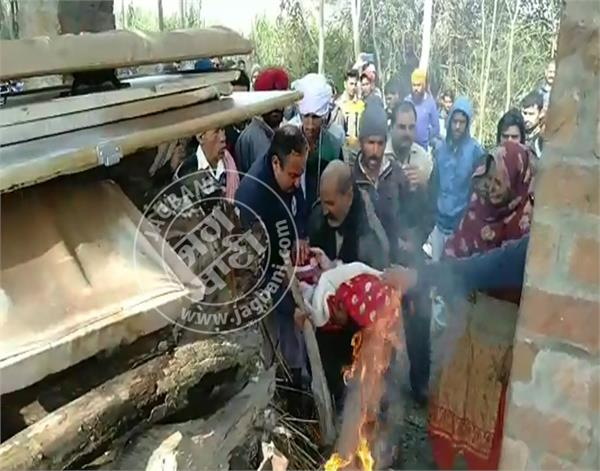 dinanagar martyr ranjit singh funeral