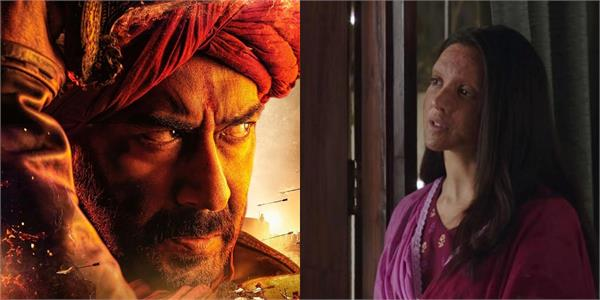 box office   tanhaji the unsung warrior and chhapaak