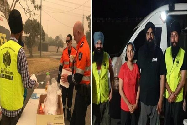 restaurant sikh couple australia free meals