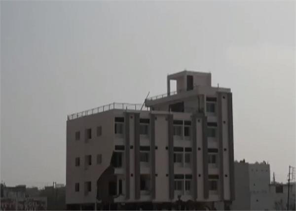 madhya pradesh kamal nath explosive building