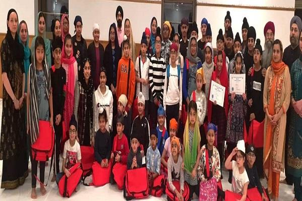 glasgow sikh history students honored