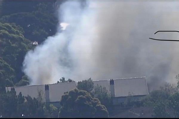 sydney  fire in school