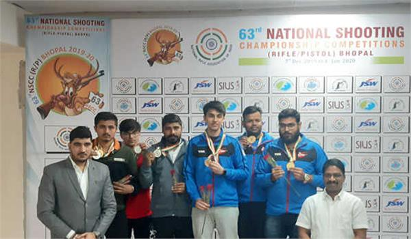 delhi shooters won 17 medals in the national championship