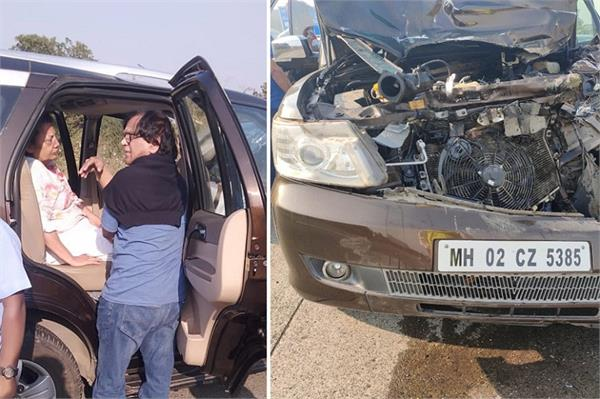 shabana azmi injured in a car accident on mumbai pune expressway