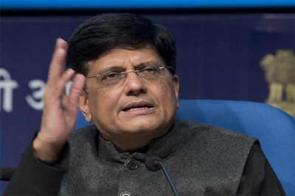 piyush goyal will lead the indian delegation to davos