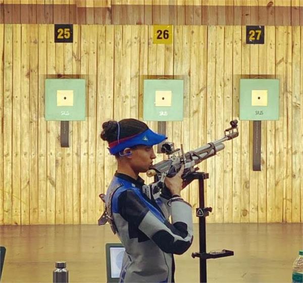national rifle shooting  champion