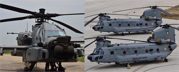 new entrants chinook  apache helicopters to be part of republic day flypast