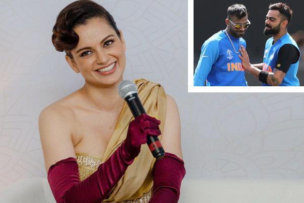 actress kangana ranaut told who is the   panga king   of team india