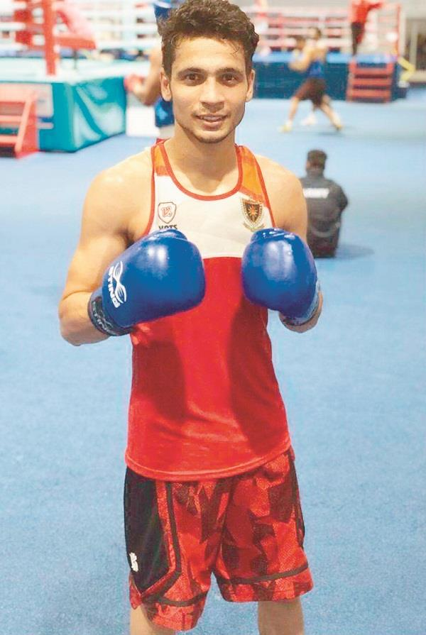 he was selected to the cricket team but his father was sent to boxing