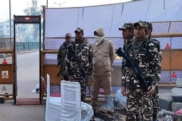 delhi elections 2020 shaheen bagh jamia voting security forces