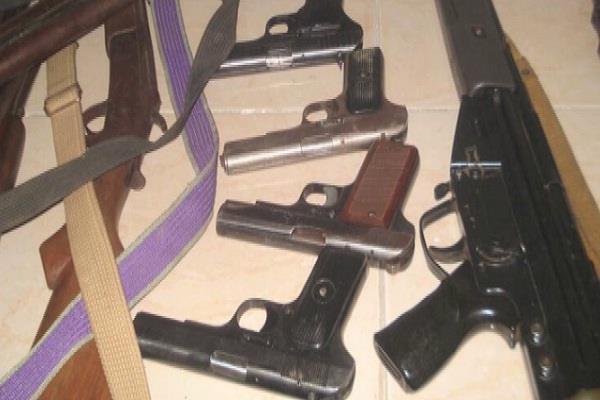 punjab gangster weapons