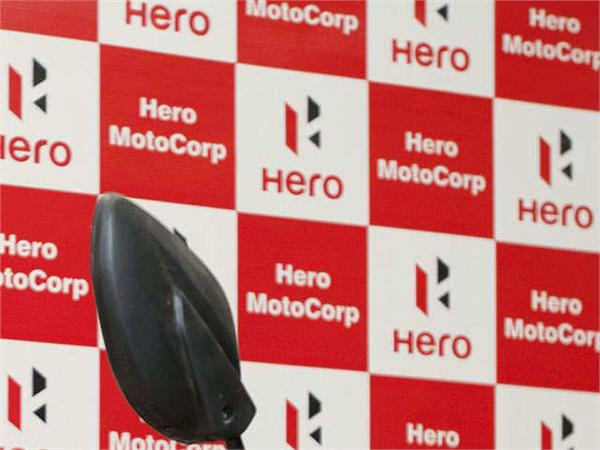 hero motocorp sales