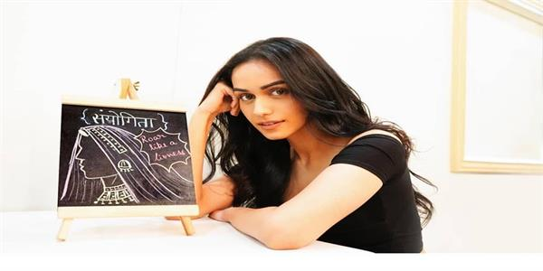 manushi chhillar shows off doodling skills by sketching her character
