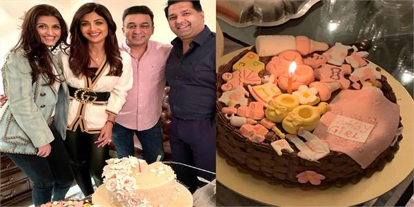 shilpa shetty and raj kundra throw lavish party to welcome newborn