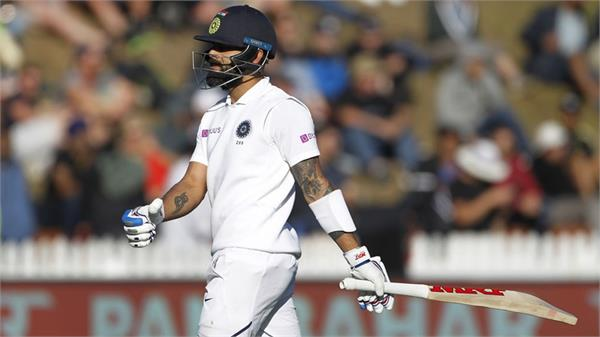 virat kohli poor form continues got out by tim southee in christchurch