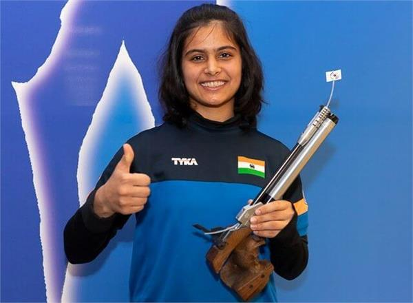 manu bhaker win gold in national shooting trials