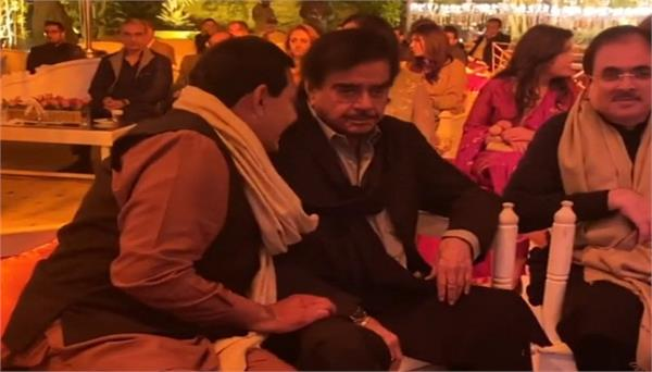 shatrughan sinha attends wedding in lahore pakistan