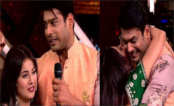 shehnaaz kaur gill emotional sidharth shukla meet