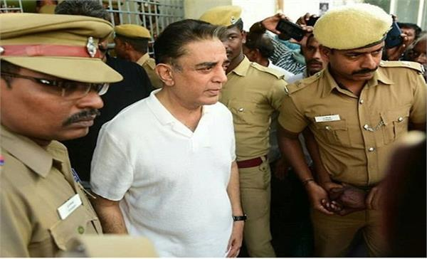 tamil nadu police registered a case of kamal haasan and shankar