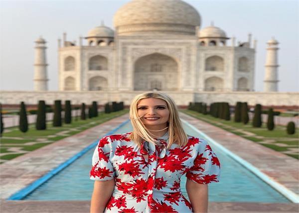 ivanka trump simplicity family india welcome