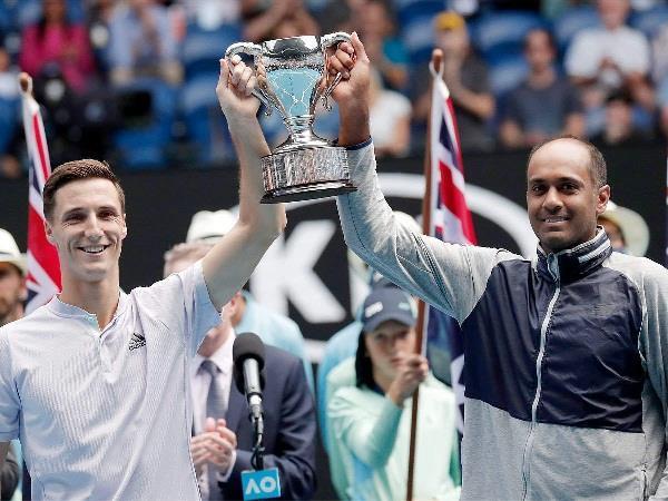 rajiv ram and salisbury win australian open doubles title