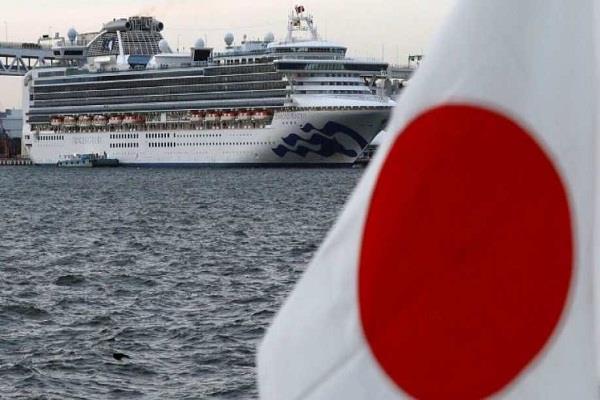 japan diamond princess ship