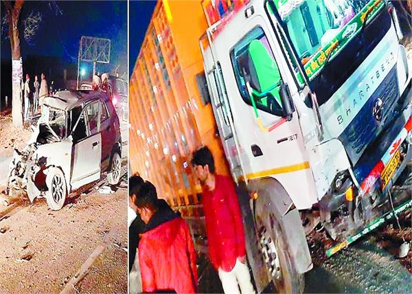 bathinda  road accident mother  son  death
