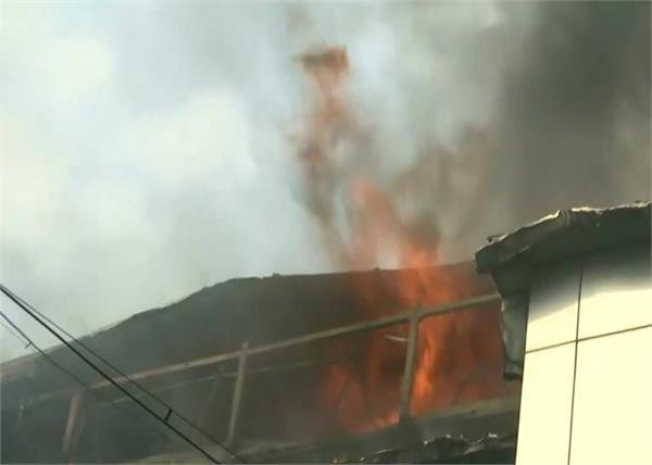 mumbai  fire at rolta company in andheri east