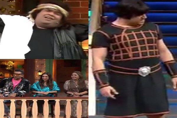 kapil makes fun of krushna in dharmendra look the kapil sharma show
