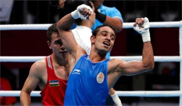 amit panghal is world no 1 in ioc s boxing rankings for olympic qualifiers