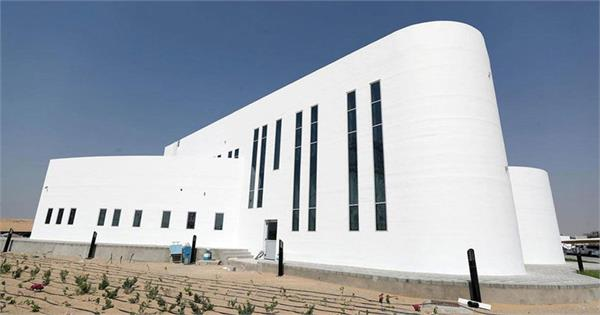 world s largest 3d printed building unveiled in dubai