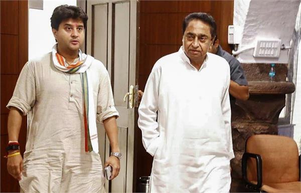 kamal nath jyotiraditya and congress high command responsible