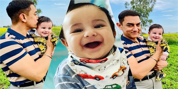 gippy grewal  s baby boy gurbaaz stole aamir khan thunder in these viral pics