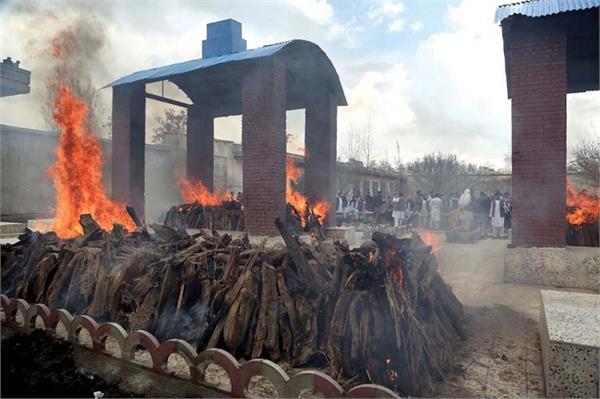 kabul gurdwara attack funeral