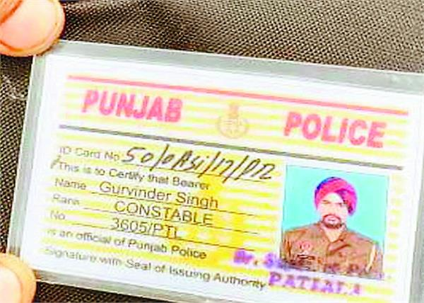 police officer  canal  jump  death  patiala